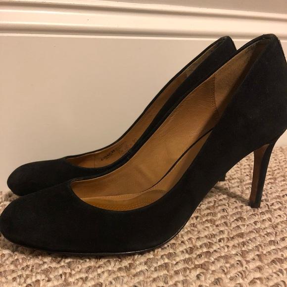 Suede Kitten Heels Round Toe | Poshmark